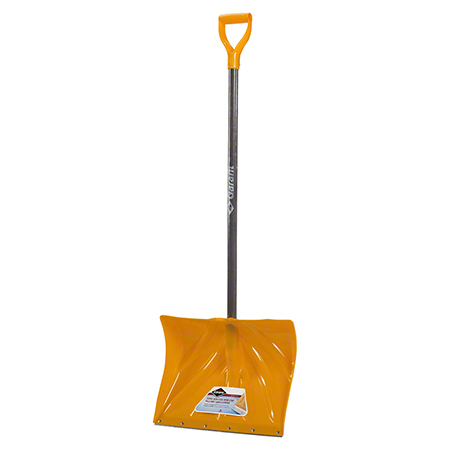 "Garant® Snow Shovel w/18"" Poly Blade & Steel Wear Strip"