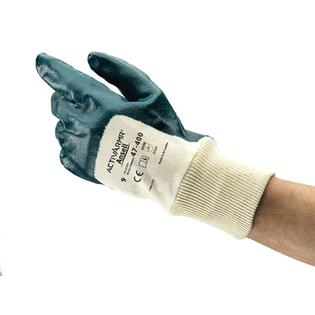 Ansell Hylite® Blue Nitrile Coated Glove - Size 7