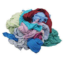 Recycled Colored T-Shirt - 25 lb. Carton