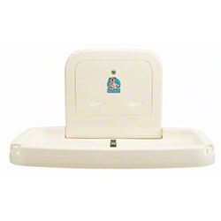 Koala Kare Horizontal Baby Changing Station - Cream