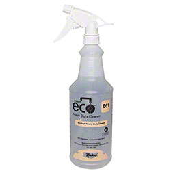 Buckeye® Eco® E61 Heavy-Duty Cleaner Bottle & Trigger