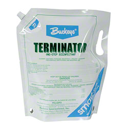 Buckeye® Terminator™ Cleaner/Disinfectant -Smart Sac