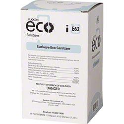 Buckeye® Eco® E62 Sanitizer - 1.25 L Bag