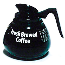Grindmaster-Cecilware Glass Coffee Decanter w/Black Handle