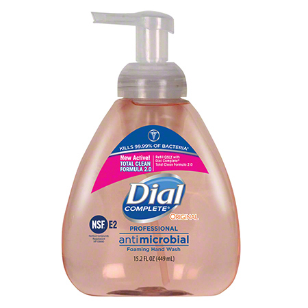 Dial Complete® Antibacterial Foaming Hand Soap - 15.2 oz.
