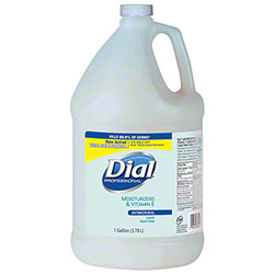 Dial® Antimicrobial Hand Soap w/Moisturizers & Vitamin E - Gal.
