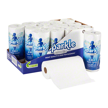 GP Pro™ Sparkle Professional White 2-Ply Paper Towel