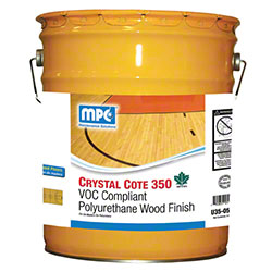 MPC™ Crystal Cote 350 Polyurethane Wood Finish