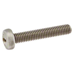 Tennant Screw Pan, Phl, M6 x 1.00 x 35, SS
