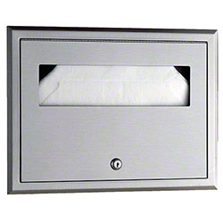 Bobrick ClassicSeries® Recessed Seat-Cover Dispenser