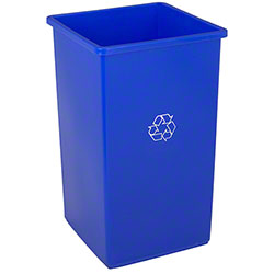 Continental Square SwingLine™ Recycle Receptacle -25 Gal.