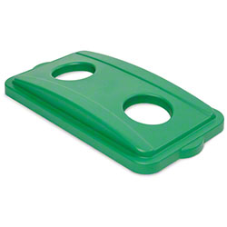 "delamo® Slim ""Mo"" Can/Bottle Lid - Green"