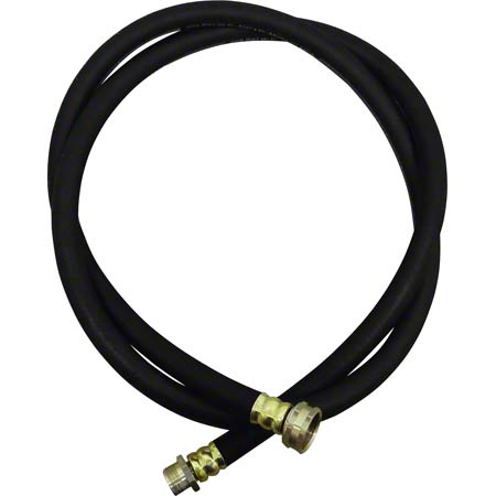 SSS® 6' Premium Grade Commercial Water Supply Hose Black