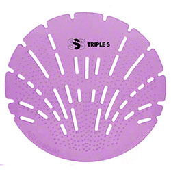 SSS® Sea Shell Flat Urinal Screen - Lavender