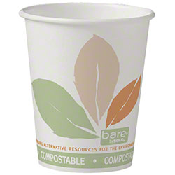 Bare® by Solo® Eco-Forward® Single Sided PLA Hot Cup