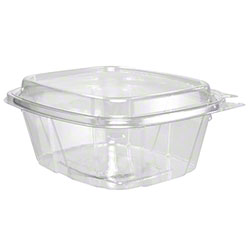 Dart® ClearPac® SafeSeal Container - 16 oz, w/Dome
