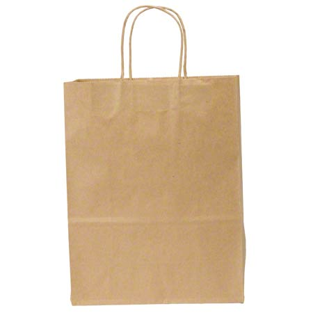 "Duro Kraft Shopping Bag - 10"" x 5"" x 13"", Missy"