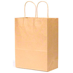 "Duro Kraft Shopping Bag - 10"" x 6 3/4"" x 12"", Bistro"