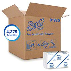 Scott® Pro Scottfold® M Towel - White