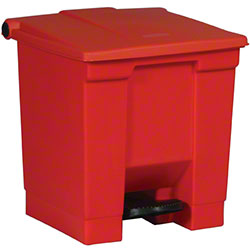 Rubbermaid® Step-On Can - 8 Gal., Red