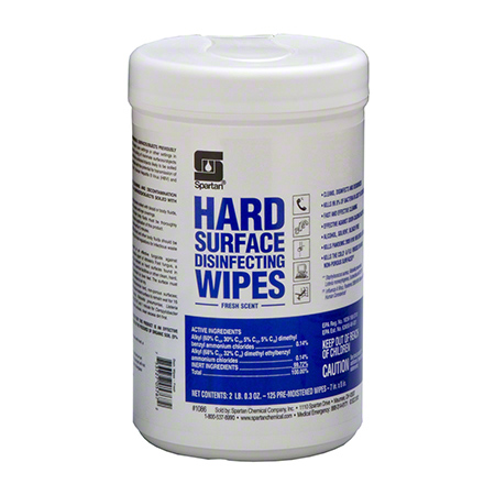 Spartan Hard Surface Disinfecting Wipe - Fresh Scent