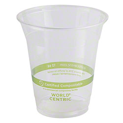 World Centric Ingeo™ Clear Cold Cup - 12 oz.