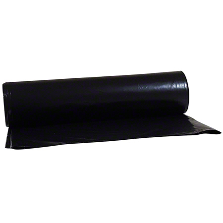 "C&C Supply Low Density Can Liner - 48"" x 60"", 2.0 mil, Black"