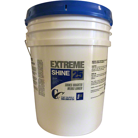 C&C Extreme Shine 25 Floor Finish - 5 Gal.