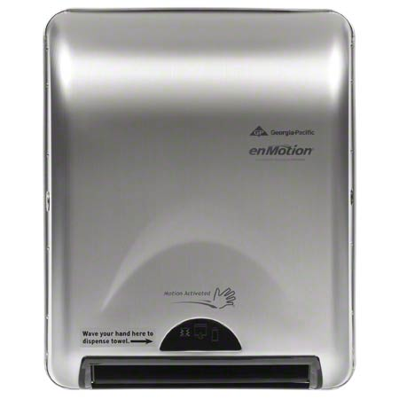 GP enMotion® Recessed Touchless Towel Dispenser -Stainless