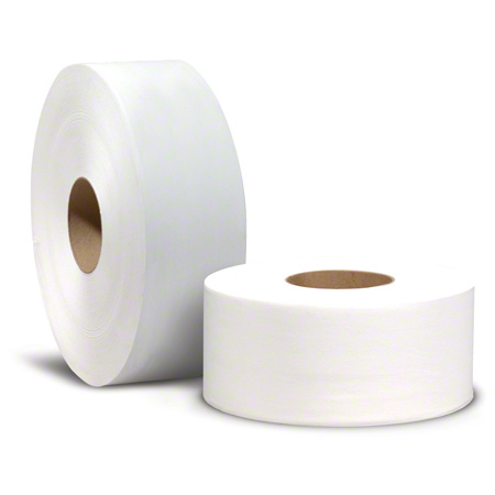 "Reliable® White Jumbo 2 Ply Bath Tissue - 3.3"" x 1000'"