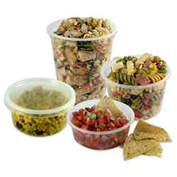 Empress™ Clear Deli Containers & Lid