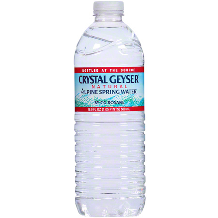 Crystal Geyser® Natural Alpine Spring Water - 16.9 oz.