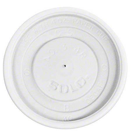 Solo® Polystyrene Plastic Vented Lid