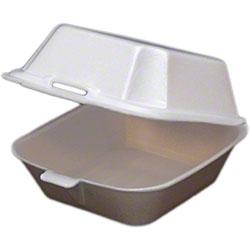 ecopax 1 Compartment Non-Vented Foam Container