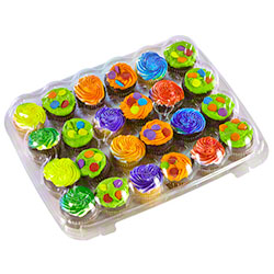 Inno-Pak® Mini Cupcake/Muffin - 24 ct.