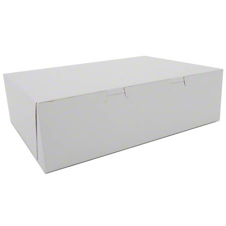 Southern Champion Lock Corner Sheet Cake Box - 14 x 10 x 4
