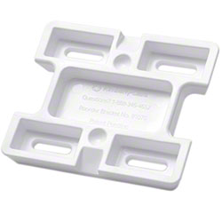 KC Universal Skin Care Plastic Mounting Bracket - White