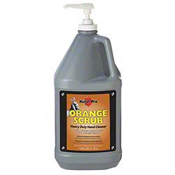 Kutol® Pro Orange Scrub Hand Cleaner w/Scrubbers - Gal. w/Pump