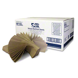 PRO-LINK® Natural Multifold Paper Towels