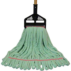 "PRO-LINK® Multi-Surface Wet Mop - Medium, 5"", Green"