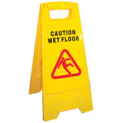 PRO-LINK® A-Frame Caution Wet Floor Sign