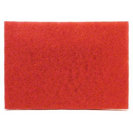 "5100/25817 12""X18""RED BUFF PAD 5/CS 70070916195"