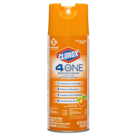 31043 4-IN-ONE DISINFECTANT, SANITIZER & ODOR ELIMINATOR