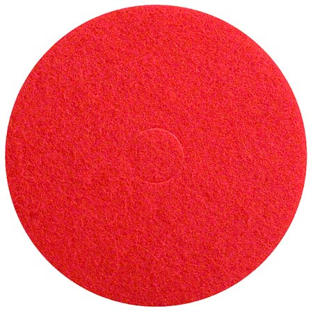 "14"" RED THCK BUFF PAD 5/CS 70140"