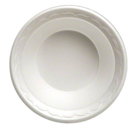 82100 12oz FOAM BOWL WHITE, UNLAMINATED 8/125CT 1000/CS