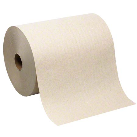 26480 SOFPULL HARDWOUND BROWN ROLL TOWEL, 1000FT 6-RL/CASE