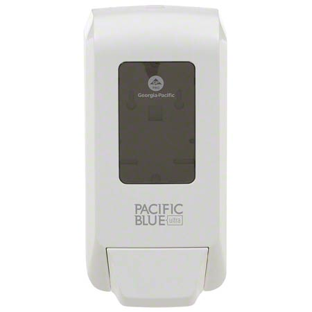 53058 DISPENSER WHITE MANUAL SOAP/SANITIZER PACIFIC BLUE