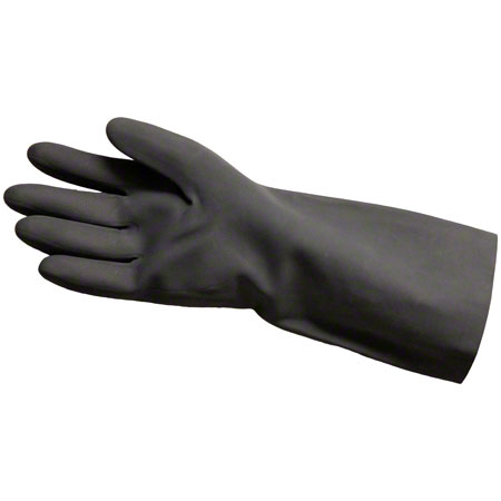 "8333L BLK LONG SLEEVE FLOCK LINED NEOPRENE GLOVE 15"" LGTH"
