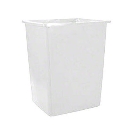 256B 56-GAL TRASH CONTAINER GLUTTON OFF-WHITE, EACH