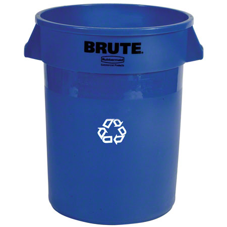 2620-73 20-GAL CONTAINER, BLUE RECYCLING BRUTE w/o LID